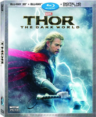 Thor: The Dark World 3D (Blu-ray 3D + Blu-ray + Digital HD Copy)