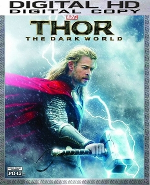 Thor The Dark World HD Digital Copy Code (VUDU)