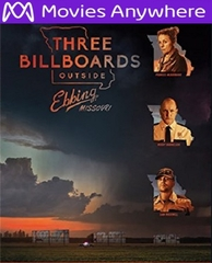 Three Billboards Outside Ebbing, Missouri HD UV or iTunes Code