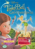 Tinkerbell And The Great Fairy Rescue DVD