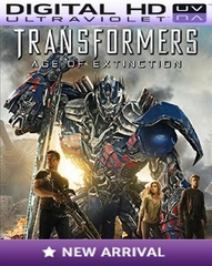 Transformers Age of Extinction HD Digital Ultraviolet UV Code