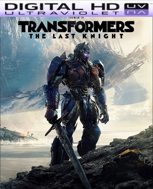 Transformers: The Last Knight HD Ultraviolet UV Code (PRE-ORDER WILL EMAIL ON OR BEFORE 9-26-17 AT NIGHT)