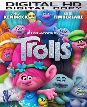 Trolls HD Ultraviolet UV or iTUNES Code