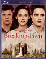 Twilight Saga Breaking Dawn Blu-ray Movie