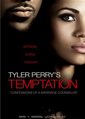 Tyler Perry's Temptation DVD Movie + Ultraviolet