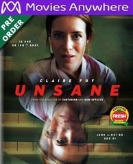 Unsane HD UV or iTunes Code Via MA     (PRE-ORDER WILL EMAIL ON OR BEFORE 6-19-18 AT NIGHT)