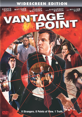 Vantage Point DVD Movie
