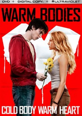 Warm Bodies DVD Movie + Digital Copy + UltraViolet.