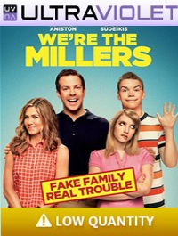 We're The Millers SD Ultraviolet UV Code