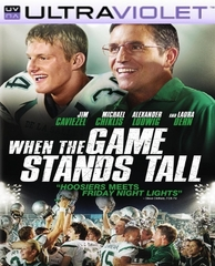 When the Game Stands Tall SD Digital Ultraviolet UV Code