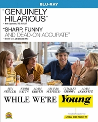 While We're Young Blu-ray Single Disc
