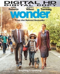 Wonder HD UV or iTunes Code