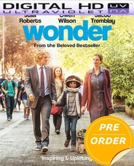 Wonder HD UV Code       (PRE-ORDER WILL EMAIL ON OR BEFORE 2-13-18 AT NIGHT)