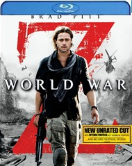 World War Z Blu-ray (USED)