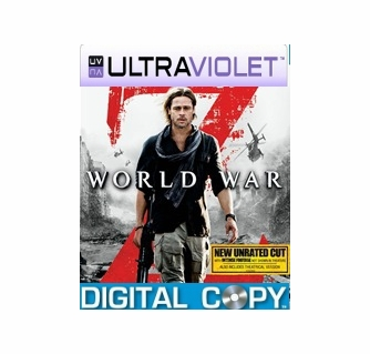 Buy World War Z SD UltraViolet UV Code | World War Z Digital