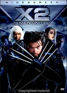X2 X-Men United DVD Movie (Widescreen)