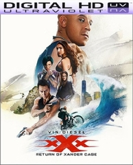xXx: Return of Xander Cage HD Digital Ultraviolet UV Code (LIMITED SUPPLY)