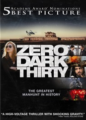 Zero Dark Thirty DVD Movie