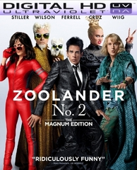 Zoolander 2 HD Digital Ultraviolet UV Code