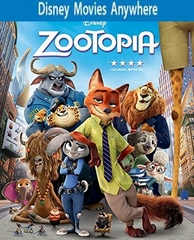 Zootopia DMA Disney Movies Anywhere Code + 150 DMR Points / Vudu or iTUNES