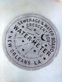 New Orleans Water Meter Door and Floor mat