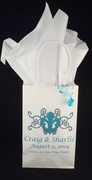 Small Personalized White Welcome Bag