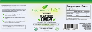 Natural Remedies For Hot Flashes and Menopause - 30 mg Flaxseed Lignans