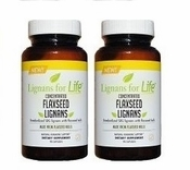 SDG Lignans from Flaxseed 35 mg 2 Pack