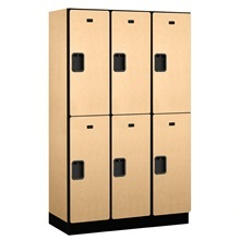 "Extra Wide Designer Lockers - 15"" W"