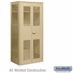 Military Combination Storage Cabinet - Tan