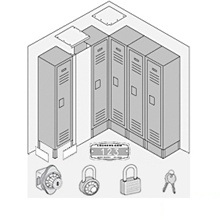 Options for Metal Lockers