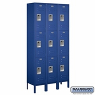 Standard Triple Tier Lockers