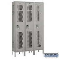 Vented Single Tier Lockers