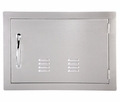 VENTED Horizontal 304 Stainless Steel Access Door 20 X 14 by FLO Grills™