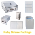Ruby Deluxe Grill and Appliance Package