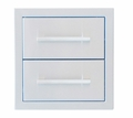 Signature Series 12-inch Beveled Frame Double Drawer