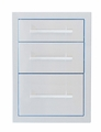 Signature Series 18-inch Beveled Frame Triple Drawer