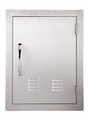 VENTED Vertical 304 Stainless Steel Access Door 14 X 20 by FLO Grills™