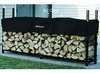 1/2 Cord (8 Ft) Woodhaven Firewood Rack With Cover