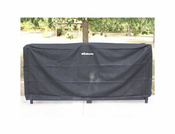 1/2 Cord Plus (10 Ft) Woodhaven Firewood Rack With Cover