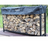 1/3 Cord Plus (6 Ft) Woodhaven Firewood Rack With Cover