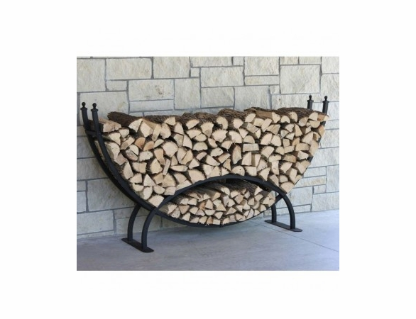 1/3 Cord Woodhaven Large Crescent Firewood Rack