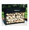 1/8 Cord (3 Ft) Woodhaven Firewood Rack With Cover