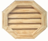 "10"" Octagon Gable Vent"