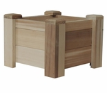 "11"", 18"" or 24"" Square Planter Boxes - Exclusive Item"