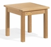 "Oxford Garden 18"" Square Shorea End Table - Additional Spring Discounts"