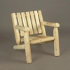 2' Log Style Lounge Arm Chair