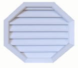 "24"" Octagon Gable Vent"