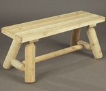 2' or 3' Log Bench