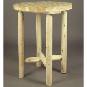 "32""Log Style Bistro Table"